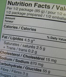 cum să citești etichete pentru a pierde în greutate