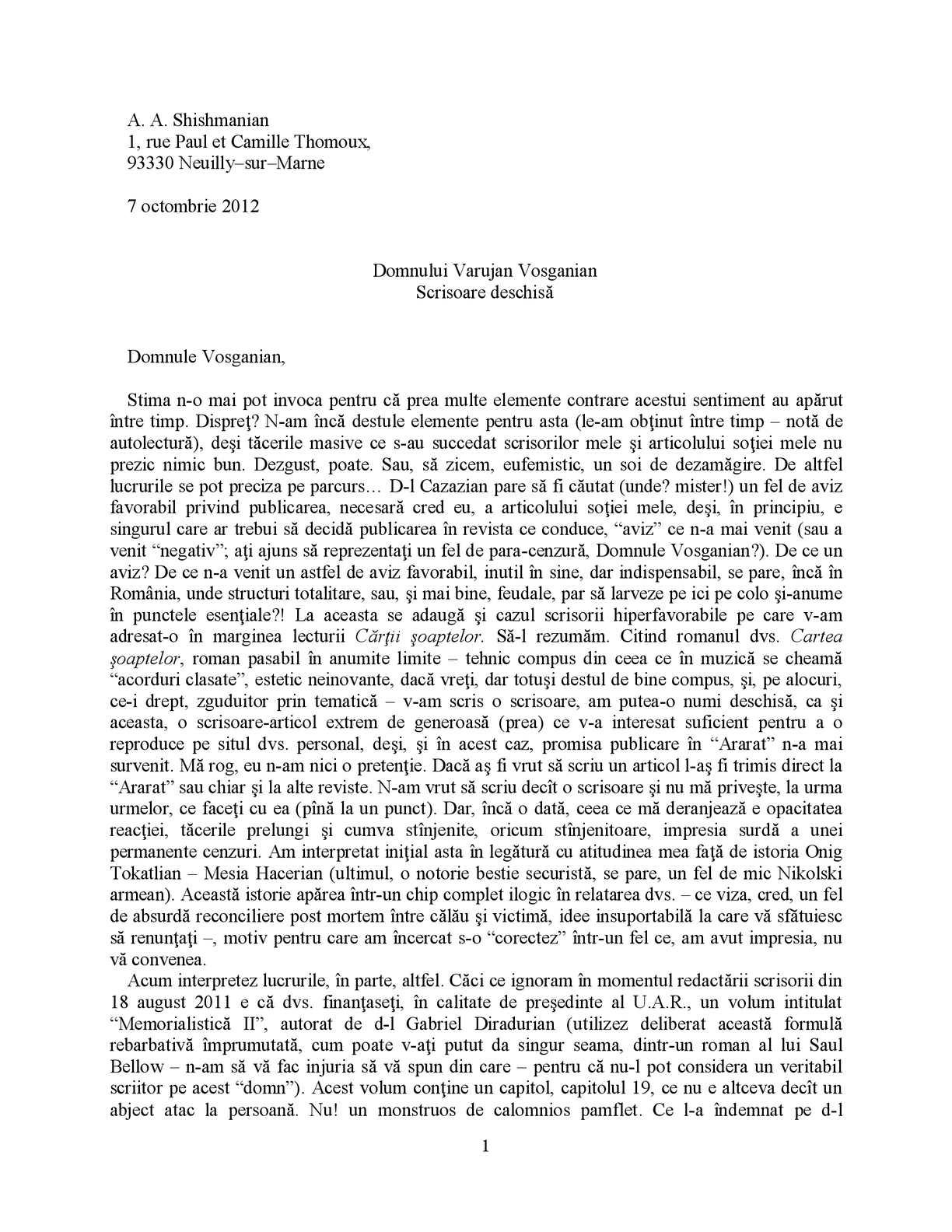 Poșta de scrisori internă | Posta Moldovei