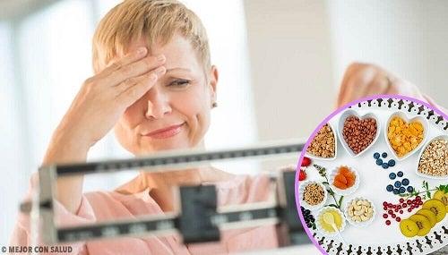 pierzi în greutate în menopauză