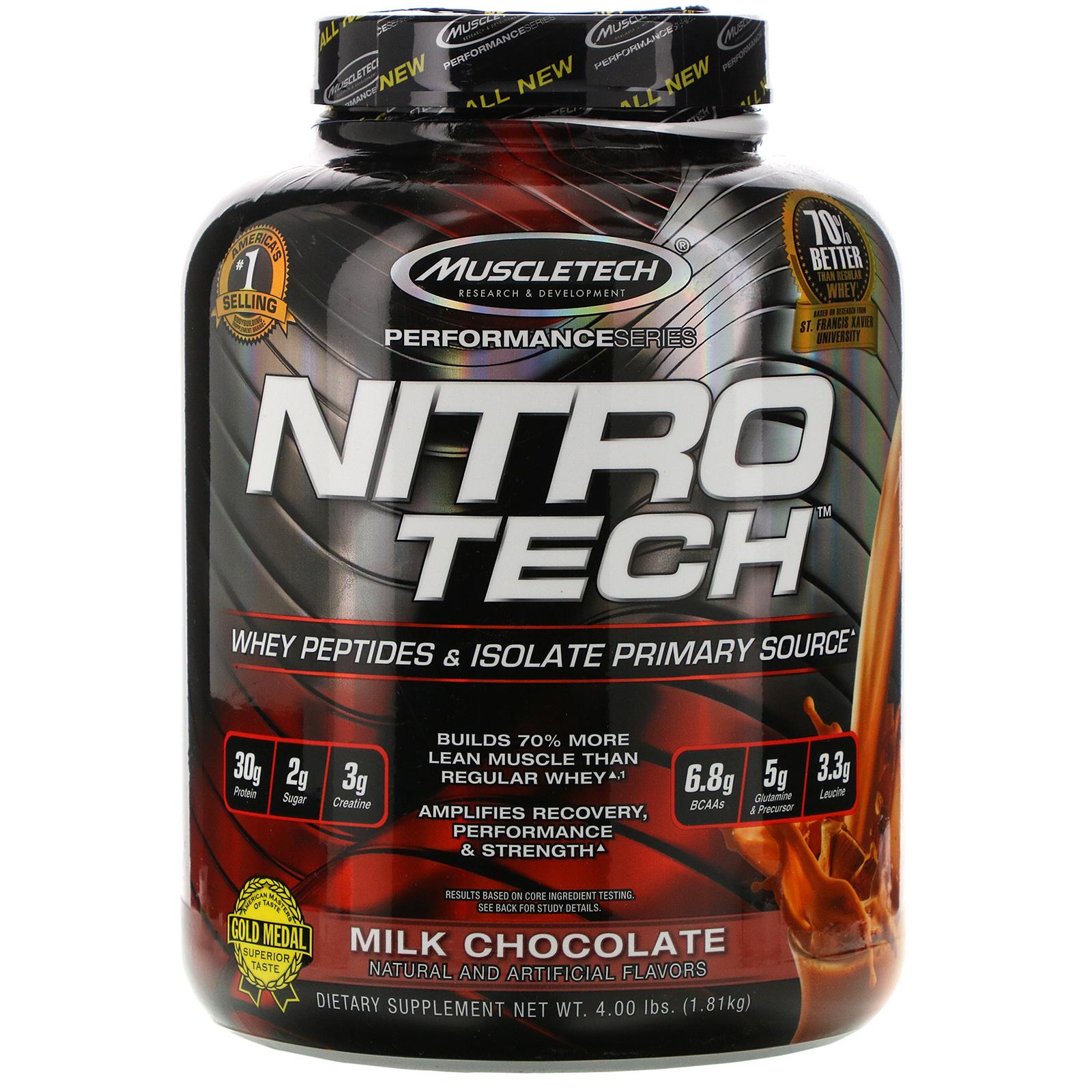 nitro tech pierdere în greutate recenzii
