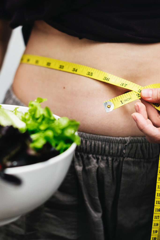 inches pierdere în greutate)