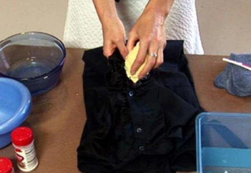 cum să elimini petele de grăsime din bumbac sandvișuri bune de slăbit