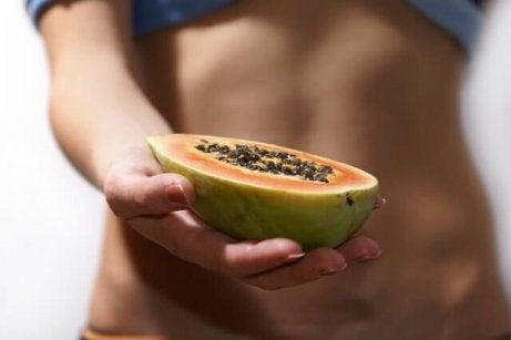 papaia ajută la pierderea în greutate
