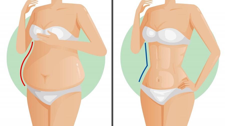 cum să pierzi grăsimea pe intestin