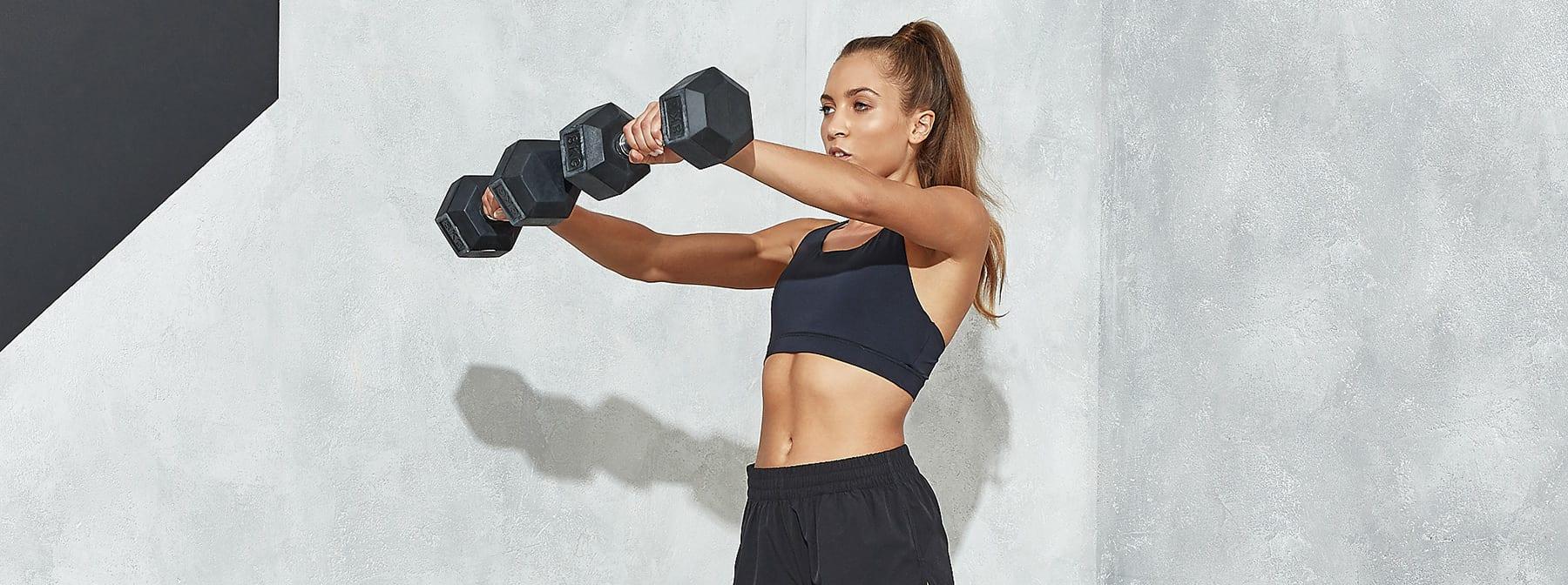 2. Ridicări laterale, exerciții care ard grăsimea abdominală