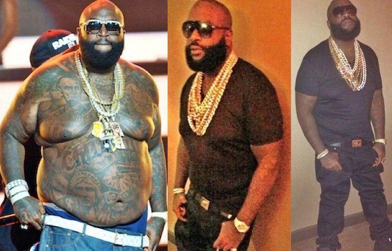 rapper rick scădere în greutate