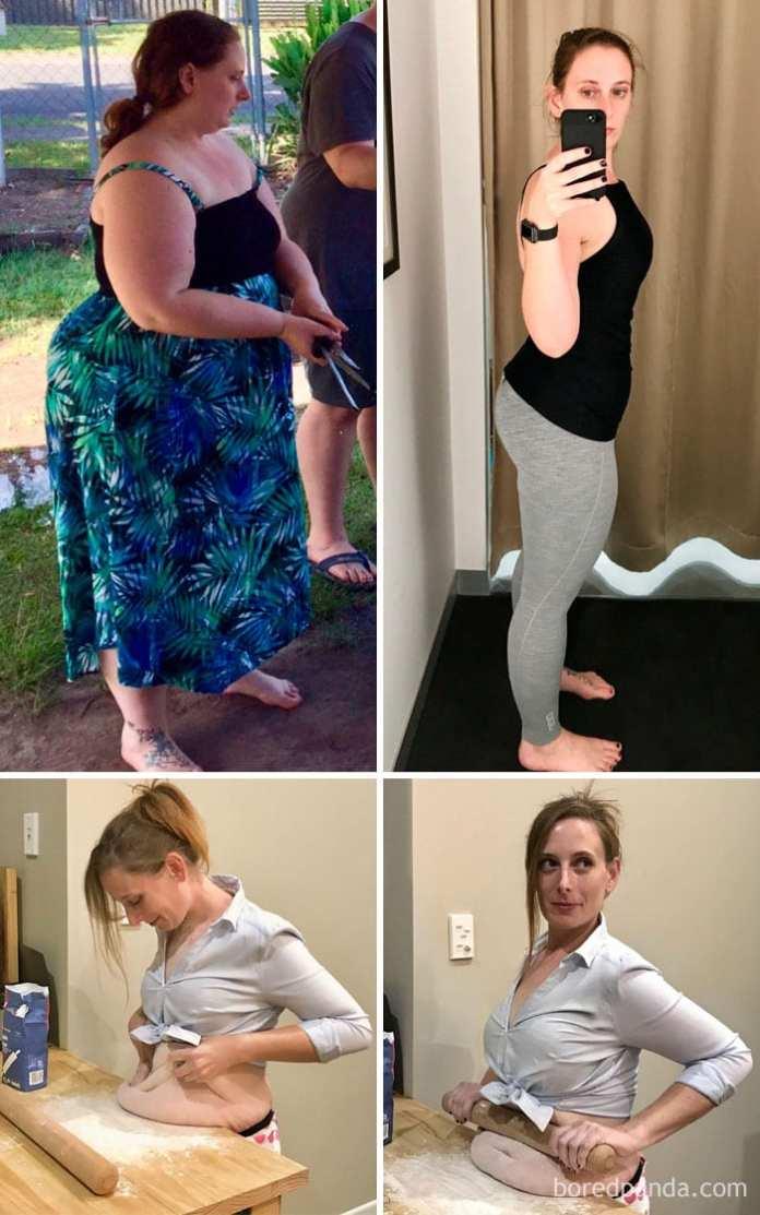 succesul pierderii în greutate după 45