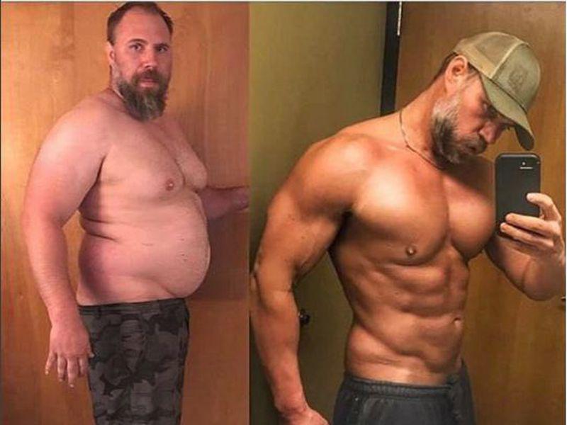 Diferenta de slabire de 40 de kilograme